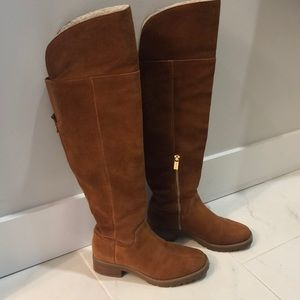 Michael Kors Over the Knee Suede Boots